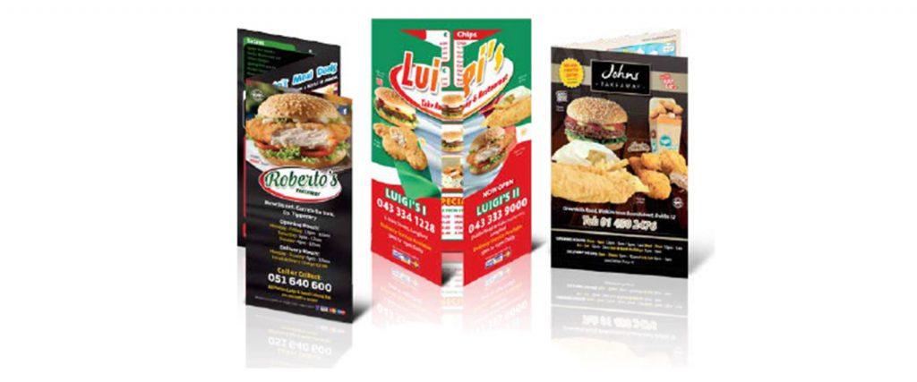 Foodservices Ireland - News Tips for leaflet desgin
