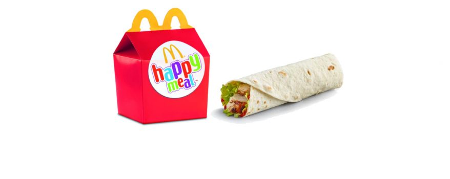 McDonald's Adds Grilled Chicken Wrap To Happy Meal Menu